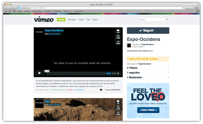 Community manager. Vimeo
