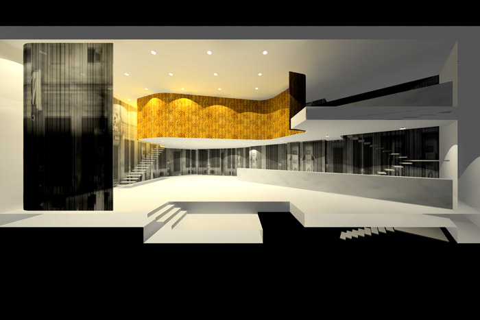 Pamplona · Theathre-Bar Niza Refurbishment 2nd Prize
