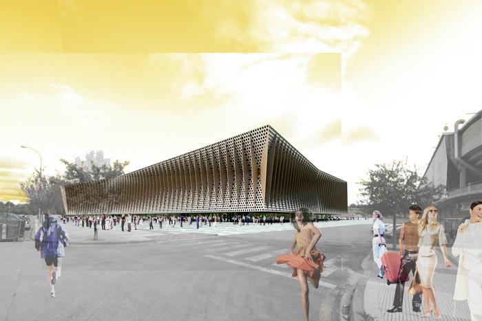 Pamplona · Arena Pavillion 3rd Prize