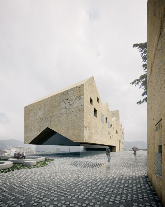 Bioggio (Switzerland) · Ciosso Soldati (in collaboration with Eberli Arch.) 3rd Prize