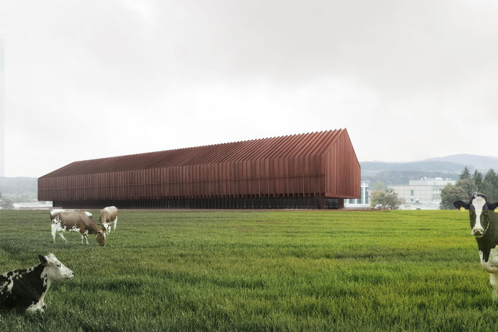 Posieux (Switzerland) · Agroscope Research Centre (in collaboration with Eberli Arch.) 1st Mention