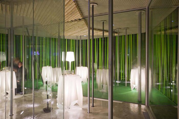 Mobiliario + concepto iluminación