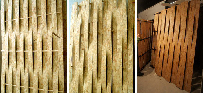 Deformed Osb Sheets Vaillo Irigaray Estudio