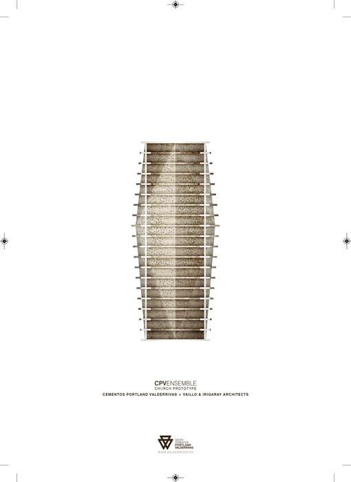 Church prototype. Proyecto R+D+i hormigón sin armadura